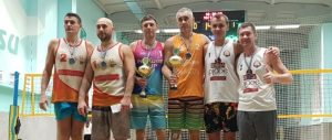 У Сумах пройшов зимовий чемпіонат з пляжного волейболу серед ветеранів