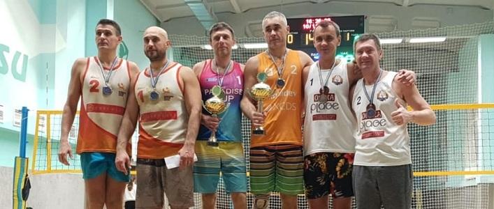 У місті Суми пройшов зимовий чемпіонат з пляжного волейболу серед ветеранів